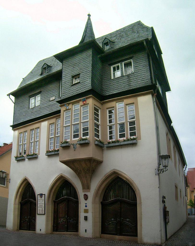 Das historische Rathaus in Meisenheim, Bild von Lokilech