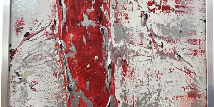 """Bild """"Das rote Kleid"""""""